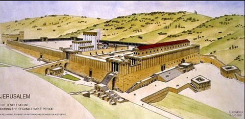 temple mount during the second temple period